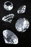 Diamantes Fotografía de archivo libre de regalías