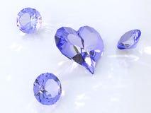 Diamantes Foto de archivo