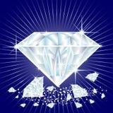 Diamantes Imagens de Stock Royalty Free