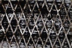 Diamantes abstratos do branco do preto da textura Fotos de Stock