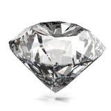 Diamantes aislados Foto de archivo libre de regalías