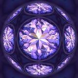 Diamantes azuis Imagens de Stock Royalty Free