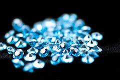 Diamantes azuis. Fotos de Stock