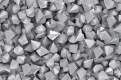 Diamantes cinzentos no espaço apertado ilustração stock