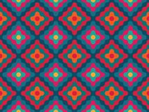 Diamantes coloridos sem emenda modernos do teste padrão da geometria do vetor ilustração royalty free