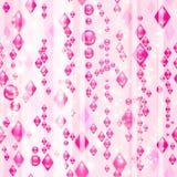 Diamantes cor-de-rosa Imagem de Stock