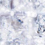 Diamantes e cristais, fundo textured luxuoso ilustração do vetor