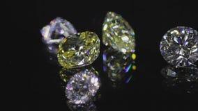 Diamantes en negro metrajes