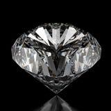 Diamantes en superficie negra libre illustration