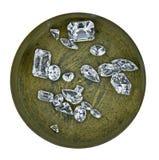 Diamantes en un rectángulo Fotografía de archivo libre de regalías