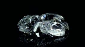 Diamantes almacen de metraje de vídeo