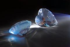 Diamantes grandes imagen de archivo