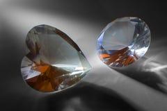 Diamantes grandes fotos de archivo