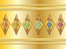 Diamantes imaginários Fotos de Stock