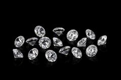 Diamantes luxuosos imagem de stock royalty free