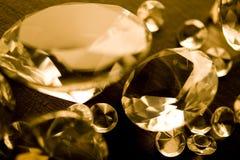 Diamantes - piedras preciosas - joyas Imagen de archivo libre de regalías