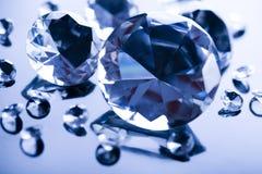 Diamantes - regalo precioso Fotos de archivo libres de regalías