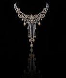 diamanthalsband Royaltyfri Bild