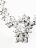 Diamanthalskette lizenzfreie stockbilder
