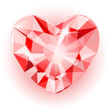 Diamanthart royalty-vrije illustratie