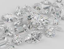 Diamanti. Immagini Stock