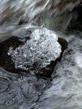 Diamanti del ghiaccio Fotografie Stock Libere da Diritti