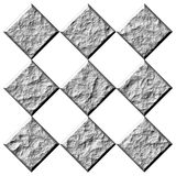 diamanti di pietra 3D Fotografia Stock