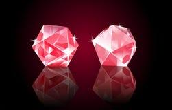 Diamanti di Rubin illustrazione di stock