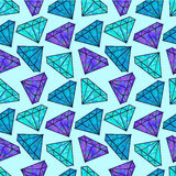Diamanti lucidi illustrazione vettoriale