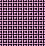 Diamanti senza giunte sul colore rosa pastello Fotografia Stock