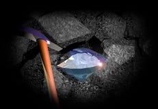 diamantjpgen framför Arkivfoton