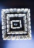 diamantlabyrint Arkivfoton