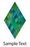 diamantlogo Arkivbilder