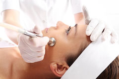 Diamantmicrodermabrasion Royaltyfria Bilder