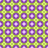Diamantmuster-Designvektorgrafik des Kreises rosa grüne Stockfotografie