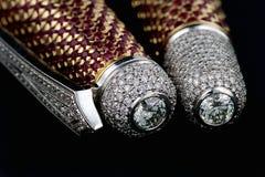 diamantpennrubies Arkivbilder