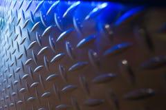 Diamantplatte mit Blaulichter Landschaft Lizenzfreie Stockbilder