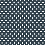 Diamantpunkt des weißen Quadrats auf nahtlosem Muster des dunklen Hintergrundvektors Stockfotografie