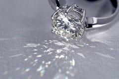 Diamantring Lizenzfreies Stockbild