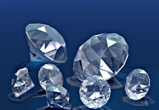 Diamants Photographie stock
