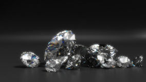 Diamants Photo libre de droits