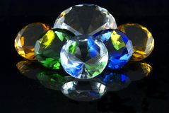 Diamants Image stock