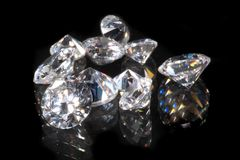 Diamants Photos libres de droits