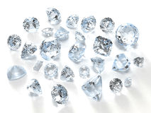 diamants Images stock
