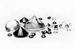 diamants Photographie stock libre de droits