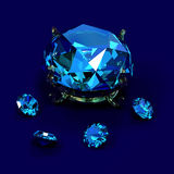 Diamants de Brilliants Images stock