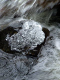 Diamants de glace Photos libres de droits