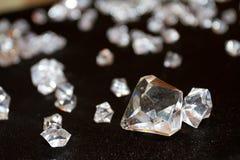 Diamants et cristaux Images stock