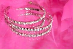 Diamants fascinants Photographie stock
