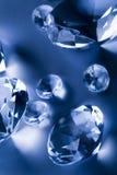 Diamants - pierres gemmes - bijoux Photos libres de droits
